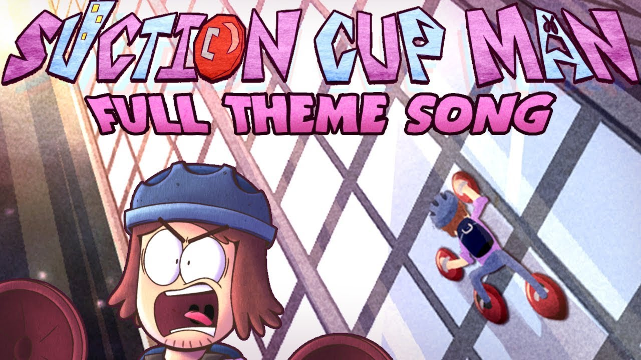 Suction Cup Man Theme Song! (Available on iTunes and Bandcamp)