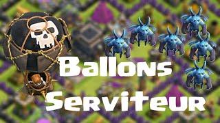 Clash of clans | Attaques Ballons-Serviteurs | Énorme Butin