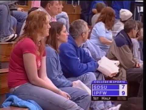 Women's Basketball vs South Dakota State 1/29/2005