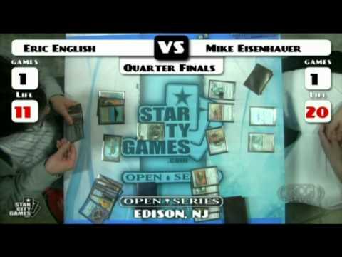 SCGLive NJ Leg QF Eric English vs Mike Eisenhauer