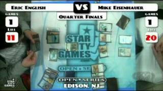SCGLive NJ Leg QF Eric English vs Mike Eisenhauer