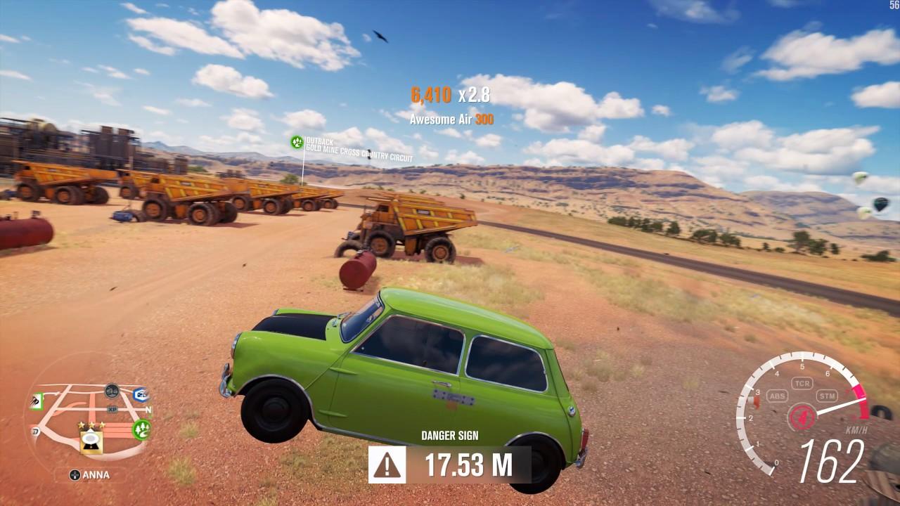 1965 Mini Cooper S Sd Jump Crash Test Forza Horizon 3 1440p 60fps