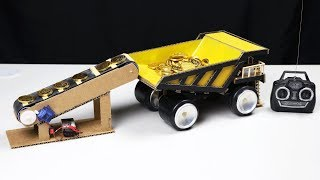 How to make Conveyor Belt with Truck
