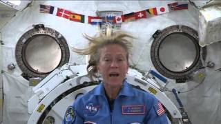 Astronaut Karen Nyberg On the Flight of Valentina Tereshkova | NASA ISS Space Science