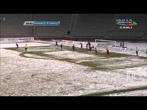 Qarabag FK 3 - 0 Qabala .30.03.2014 HD ( (Topaz Premyer Liqası)