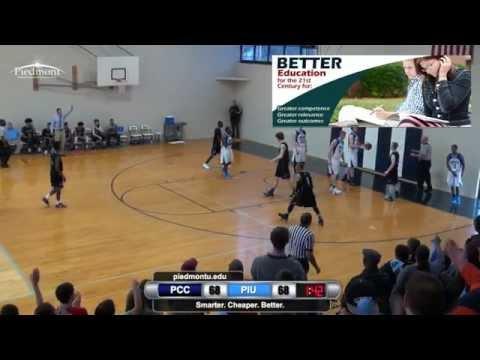 NCCAA Men's South-Regional Basketball Tournament - Game #5