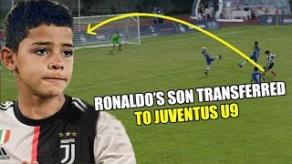 RECORD OFFER!! Ronaldo's son with Crazy Skills for Juventus Youth Club