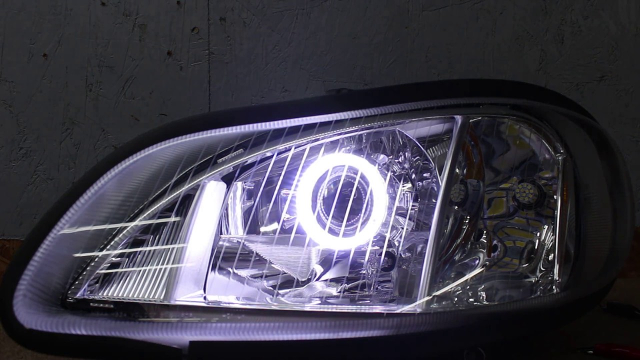 2002-2019 Freightliner M2 Business Class Projector LED
