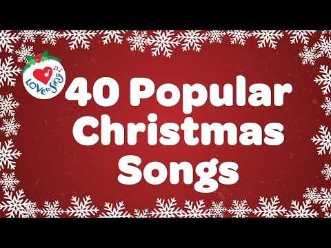 Top 40 Popular Christmas Songs and Carols Playlist - Over 90 Minutes 🎅