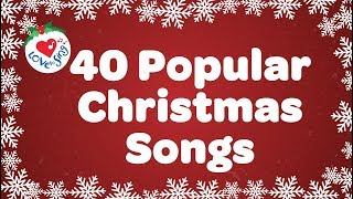 Top 40 Popular Christmas Songs and Carols Playlist Over 90 Minutes 🎅