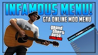 GTA 5 Online - INFAMOUS UNDETECTED 1.41 MOD MENU + DOWNLOAD!!! (GTA 5 PC Mods)