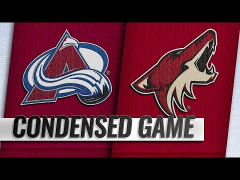 12/22/18 Condensed Game: Avalanche @ Coyotes