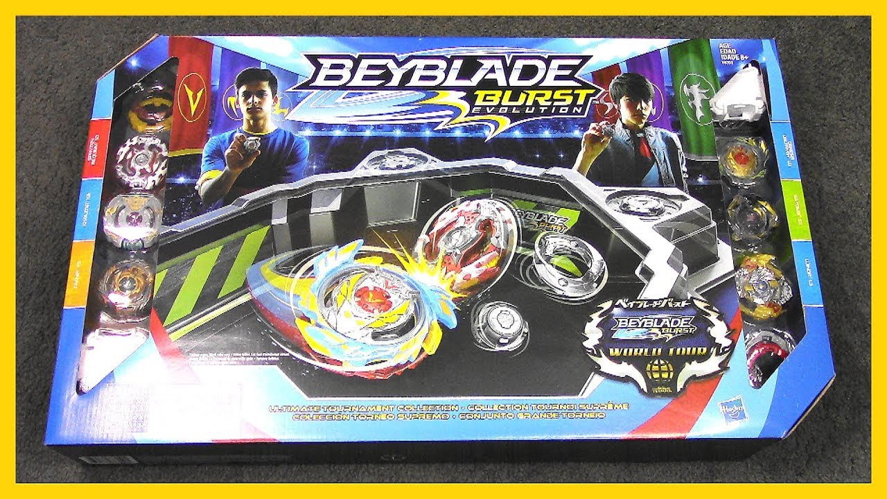 ULTIMATE TOURNAMENT COLLECTION!! Beyblade Burst Evolution SwitchStrike | Hasbro #1