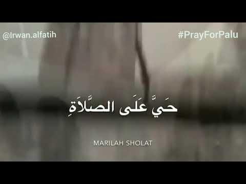 FULL ADZAN PASHA UNGU UNTUK PALU #PrayForPalu