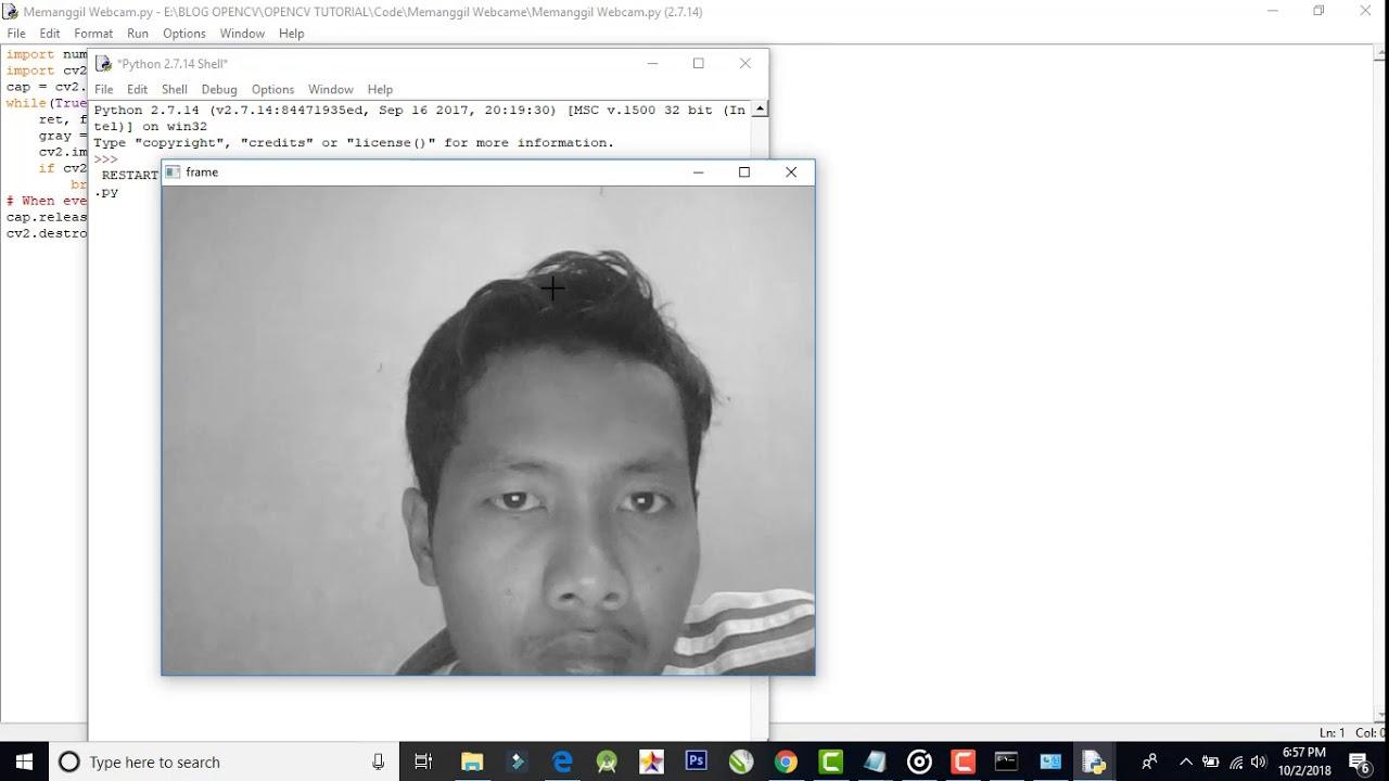Memanggil Video dan Camera Menggunakan OpenCV Python - ivanjul com