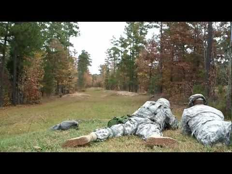 US Army M16 Rifle Qualification Training