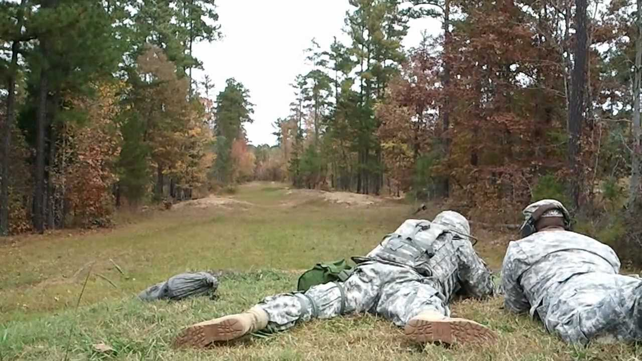 Us Army M16 Rifle Qualification Training Youtube