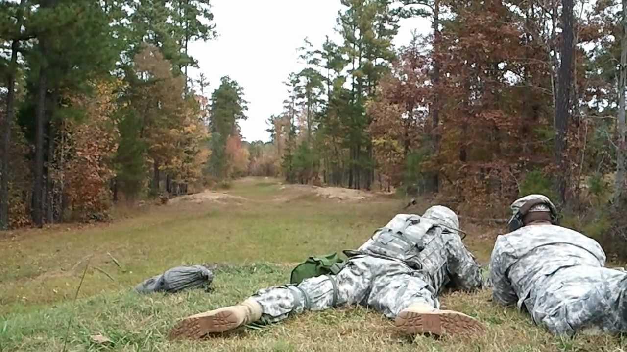 US Army M16 Rifle Qualification Training - YouTube