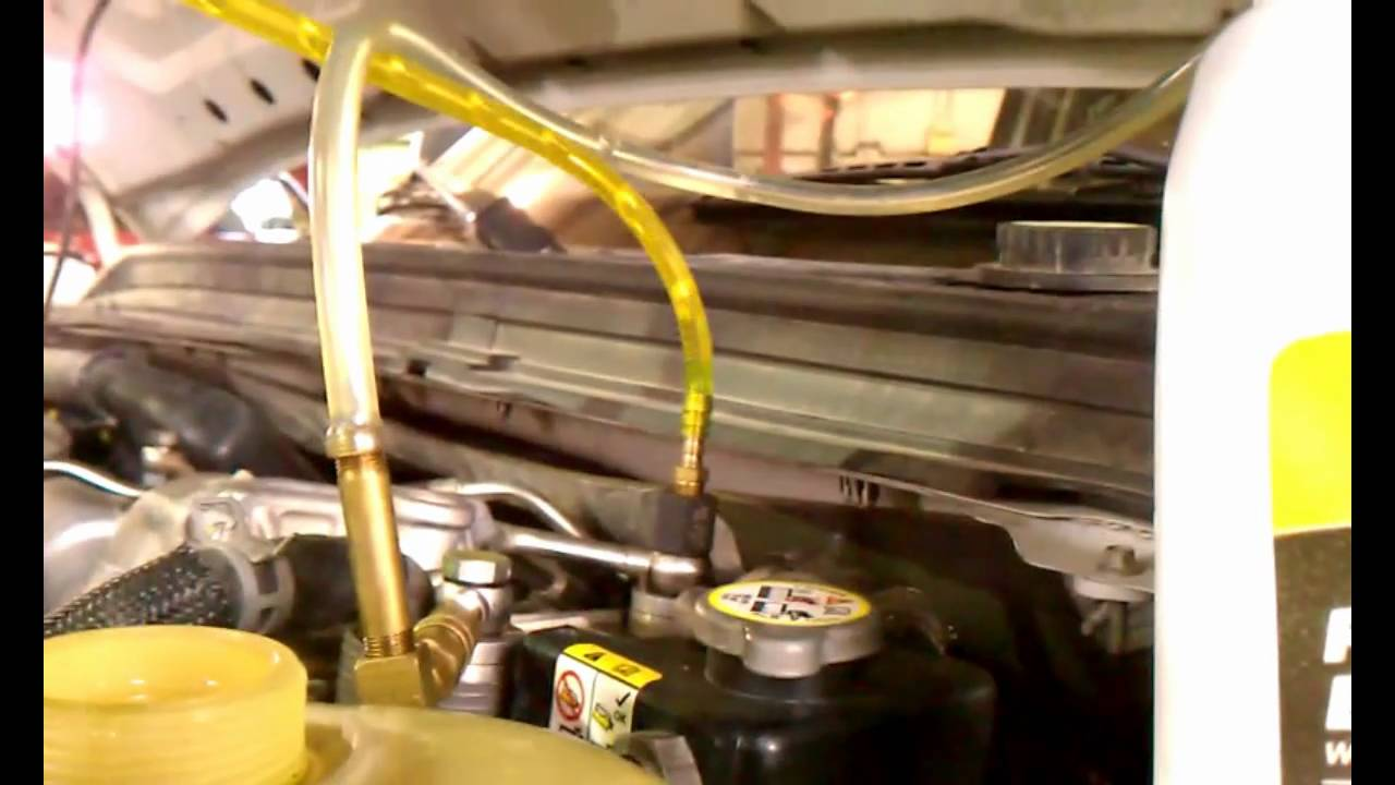 How To Bleed The 64lit Powerstroke Fuel System Youtube 2008 Ford F 350 Fuse Diagram For 6 4 Diesel