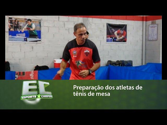 Atletas alagoanos de tênis de mesa se preparam para o Campeonato Brasileiro