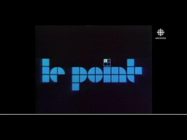 En 1981, lancement de l'émission Le point, magazine d'information