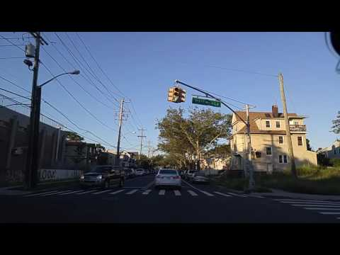 Driving by Far Rockaway Queens,New York
