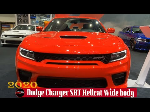 2020 Dodge Charger SRT Hellcat Wide body Exterior and Interior Walkround - 2019 LA Auto Show