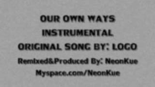 Logo - Our Own Ways (NeonRemix) Instrumental