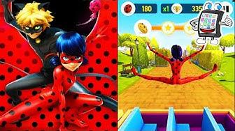 MIRACULOUS Ladybug + Cat Noir App deutsch|Schüler werden zu Superhelden + bekämpfen Pharao #NinaNoob