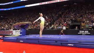 Kara Eaker - Vault – 2018 U.S. Gymnastics Championships – Senior Women Day 2