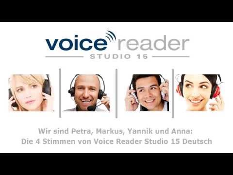 Linguatec Voice Reader Studio 15 Text-to-Speech - Sprachausgabe in Deutsch, Englisch, Spanisch etc.