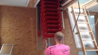 Чердачные лестницы Roto Mini(, 2014-07-28T06:53:30.000Z)