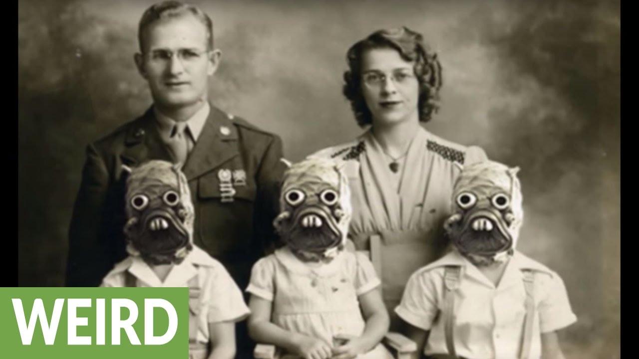10 creepy vintage Halloween costumes - YouTube