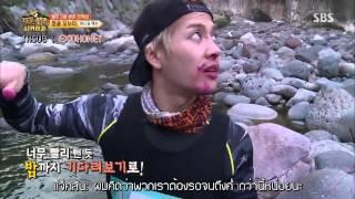 [ซับไทย] 150911 Law of Jungle ฮานิ - หวังแจ็คสันคนแมน feat.ฮานินูน่า (Cut)