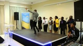Pastor Abe Masinga Dancing with Takie Ndou
