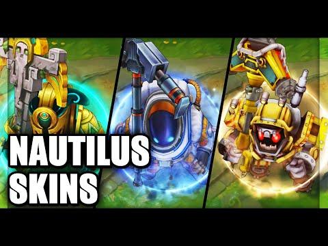 All Nautilus Skins Final Update 2020 (League Of Legends)