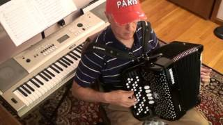La valse des Divas -button accordion + karaoke