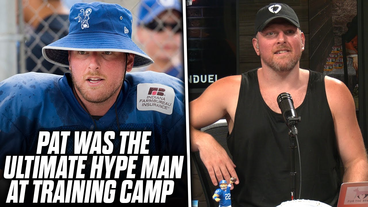 Pat McAfee Was The ULTIMATE HYPE MAN At Training Camp