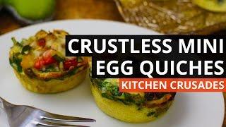 Crustless Mini Egg Quiches