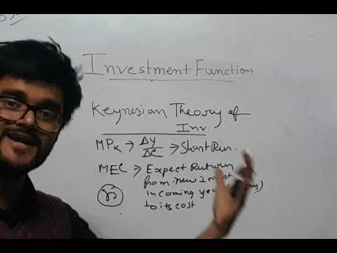 #INVESTMENT FUNCTION #KEYNESIAN THEORY #FULL ANALYSIS #ECONOMICS #SHORT TRICKS & TIPS #9836793076