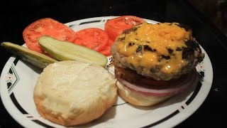 Turkey Burgers W/  Rosemary & Thyme Recipe