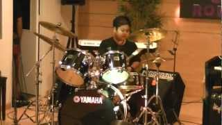 the GazettE-the invisible wall drum cover(YAMAHA KID DRUMMER MALAYSIA)