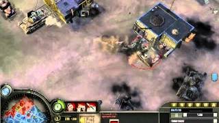 Company Of Heroes COH Relic Internet RT Battle Fight 2 Vs 2 Strong Foe