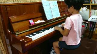 みーちゃん、小学1年生。 ピアノ歴は11か月目。 サウンドツリー3Aの...