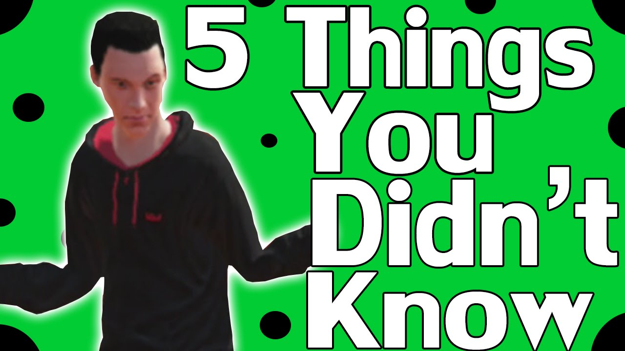 5 Things You Didn't Know About Skate 3 - YouTube