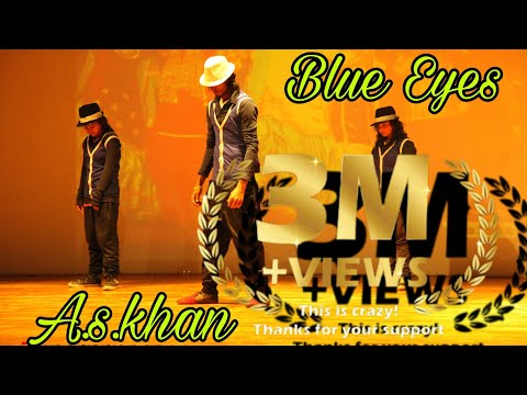 Yo yo honey Singh Blue eyesdance style mj style a s khan dancer