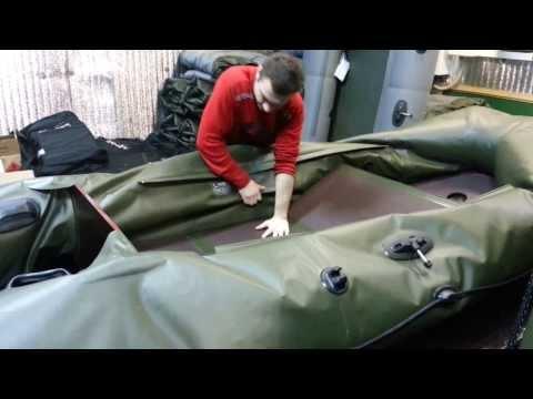 правильный ремонт лодки пвх