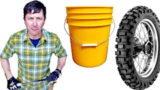 How To Change A Tire With A Bucket