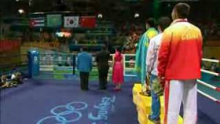 national anthem of kazakhstan bakhyt sarsekbayev beijing 2008