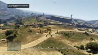 GTA V Going To Steal Some Shit In A Crop Duster